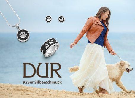 Dur Schmuck Slider-lucky-dog mit logo